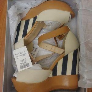 Jessica Simpson espadrille heels 8.5
